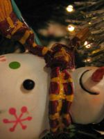 snowman ornament by twofortheprice