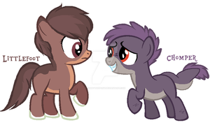 L and C Ponified by JamayThePony