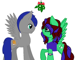 Our First Year Under the Mistletoe by PastelProse