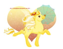 Pina Colada Ponkey by Honeykitten