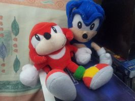 Sonic and Knuckles by Geoffman275