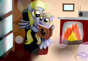 Reading Time by PoisonicPen