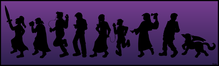 Shadowy Silhouettes by Between-the-Stars