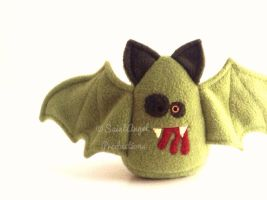 Stuffed Zombie Vampire Bat Plushie by Saint-Angel