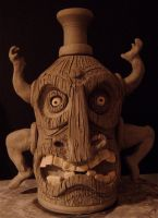 Tiki God Jug- WIP by thebigduluth