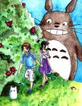 Searching for Totoro by EllenorMererid