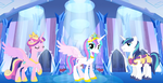 The Royal Family of the Crystal Empire (Offical) by Thunderstar711