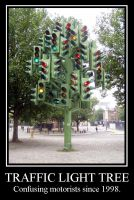 Traffic Light Tree by OmniaVanitus