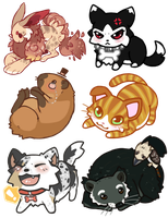 Keychain Batch 1 by Kiboku