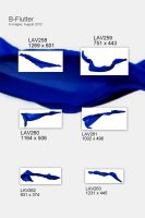 LAV Flutter-Pack - Royal Blue 02 by geoectomy-stock