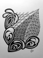 Zentangle #12 by Art-Ju