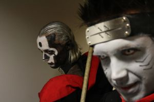 Hidan and Kisame by ERBI--cosplay