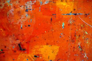 orange abstract texture 3 by beckas