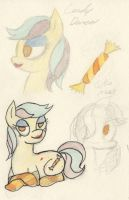 Candy Dancer sketches by InfiniteBadness