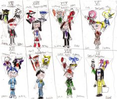 Persona 2 Characters by OceanPictures61