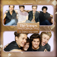 +Photopack png de The Vamps. by MarEditions1