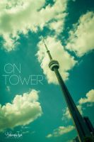 CN Tower by Janjua