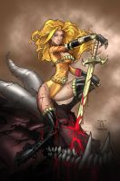 Dragon Slayer Rhea Colours by nahp75