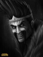 Draven, The Glorious Executioner by kinwii