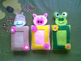 animal - pigura by handcraft-unik