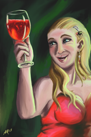 Coralia  -  glass and reflection practice by XantheStar
