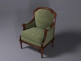 Neoclassical Bergere by ileckfi