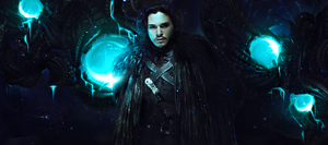 Jon Snow - Game of Thrones HBO by Elleaeve