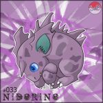 033 NIDORINO by sinnohandbeyond