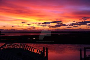 November Sunrise in Seaford Harbor re-post by peterkopher