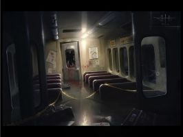 Flooded subway - Murder by etwoo