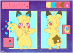 : Starlet Reference : by ToxiicClaws
