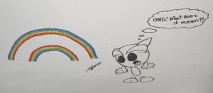 Double Rainbow Fella by DavisJes