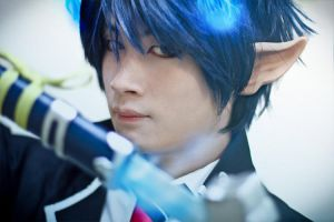 Ao No Exorcist by Heartsfuzzhospital