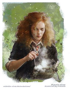 Hermione Granger by Michelle-Winer