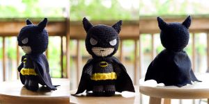 Batman Amigurumi Doll by Sushumo