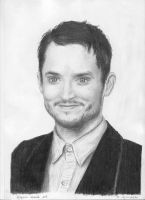 Elijah Wood by madeleineironique