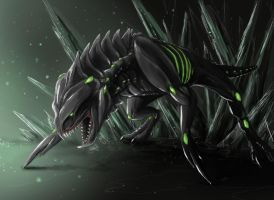 Skitter Dragon by quinnk