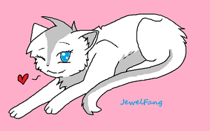JewelFang-Warrior-RiverClan by twirlacat555