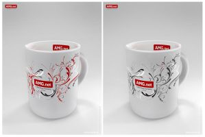 Mug for AMG.net by mOsk