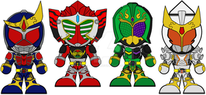 Chibi Legend Rider Arms by Zeltrax987