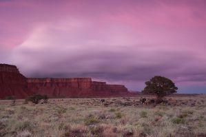 Utah Mesa Twilight by madrush08