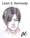 Sketch (8) Leon for Cindel by Valaquia
