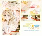.PREVIEW: Dream in Color Artbook. by Hetiru