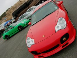 Porsche GT3RS 911 Carrera 4 by Partywave