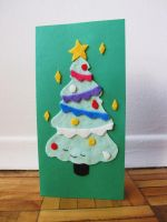 Handcraft Christmas Card 2 by thoughtshower