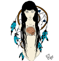 My Brain Dreams: A Tattoo by Lily-Lithium