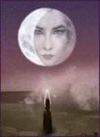 Lady Moon by maiarcita