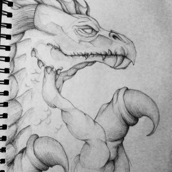 Dragon (Old but worth submitting) by Primlett
