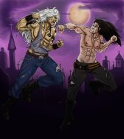 _ Dark fight _ Dario and Alastor by RayNoir