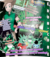 EronCore First Poster! by JADrawings